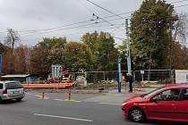 """Rekonstrukce tržiště """"Pod Kaštany"""" přesune dočasně zastávku Náměstí míru"""