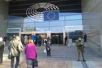 Evropský parlament v Bruselu. Ilustrační foto.
