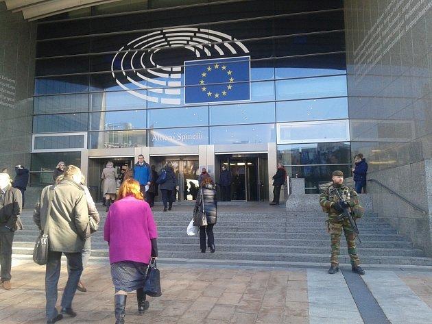 Evropský parlament vBruselu. Ilustrační foto.