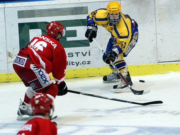 Zlínští juniorští extraligoví hokejisté.