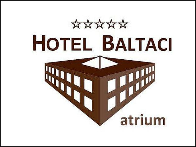 Logo hotelu Baltaci ve Zlíně.