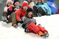 Ski areál Razula - diváci