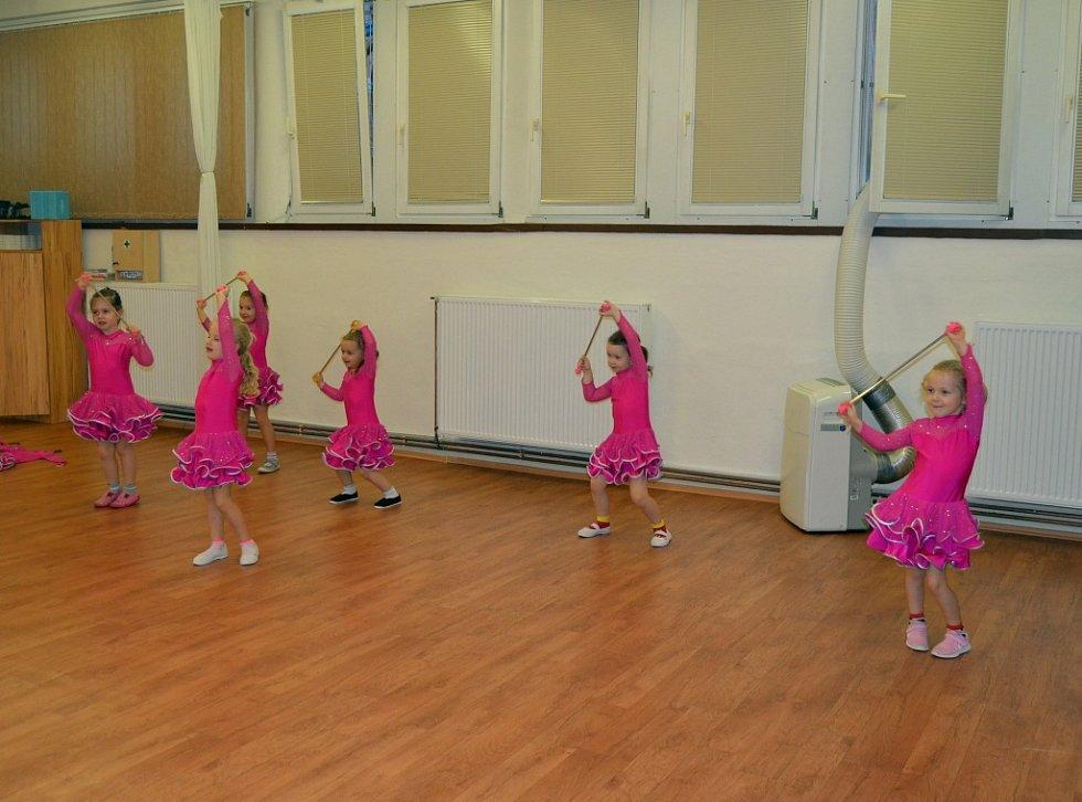 Děti z tanečních kroužků mají za sebou mimořádné soustředění