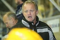 Trenér zlínských hokejistů Zdeněk Venera.