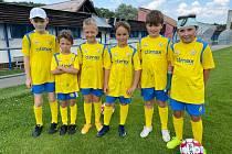 Ligový Fastav Zlín znovu uspořádal letní kemp pro děti.