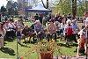 Králičí hop i pletení pomlázky. Takto vypadaly svátky jara v parku Komenského