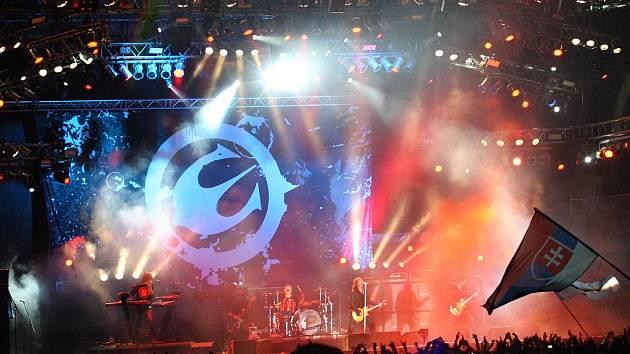 Koncert legendární švédské kapely Europe.