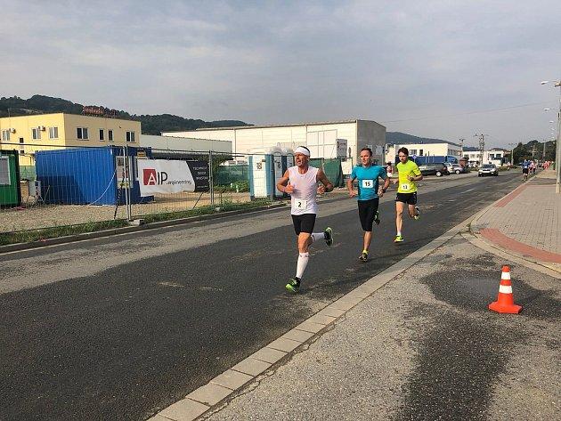 Běh na 2míle ve Zlíně, září 2018