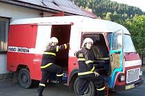 Sbor dobrovolných hasičů z obce Držková.