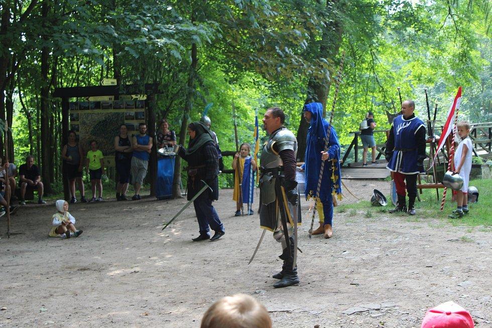 Na Lukov se vrátil středověk.