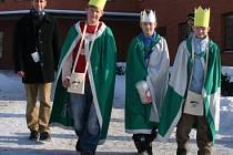 Tři králové na pochodu.