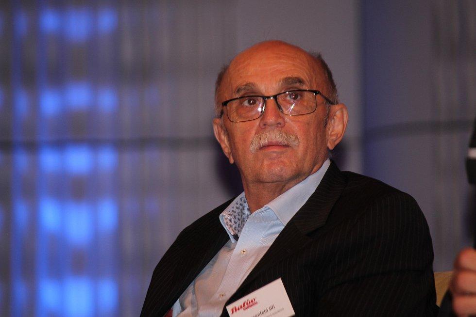Konference Baťův odkaz Evropě ve Zlíně. Jiří Rosenfeld.