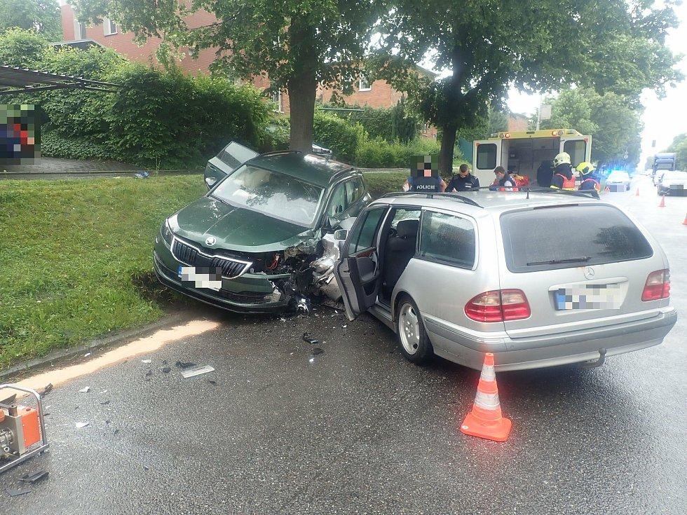 Vážná dopravní nehoda ve Zlíně