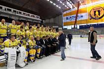 Fotografování hokejového teamu PSG Zlín