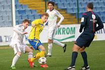 fotbal, II. liga, Fastav Zlín - MFK OKD Karviná