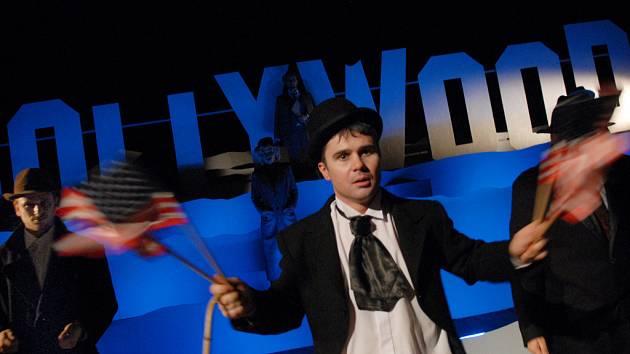 Radovan Král se stal dokonalou kopií Charlieho Chaplina.