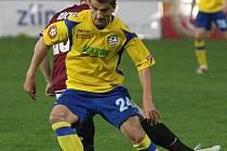 Filip Rýdel přispěl k poslední ligové porážce Sparty gólem i nahrávkou. Zápas ale kvůli vážnému zranění nedohrál.