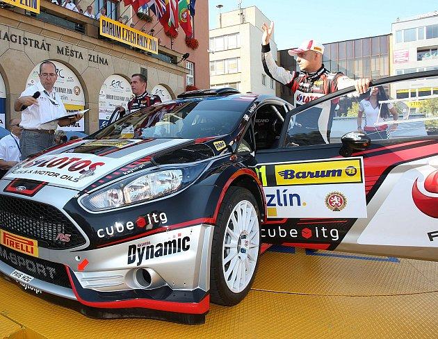 K favoritům letošního 47. ročníku Barum Czech rally Zlín bude stejně jako loni patřit Kajetan Kajetanowicz z Polska, který coby úřadující evropský šampion a současný lídr poveze na svém voze opět číslo jedna.