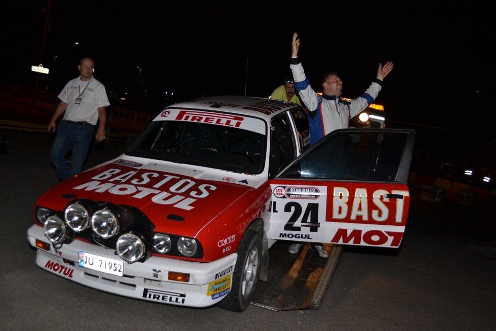 Star Rally Historic a Barum Czech Rally Zlín - 1 RZ Zlín
