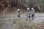 Následky silného větru ve Zlínském kraji, 4.2.2020