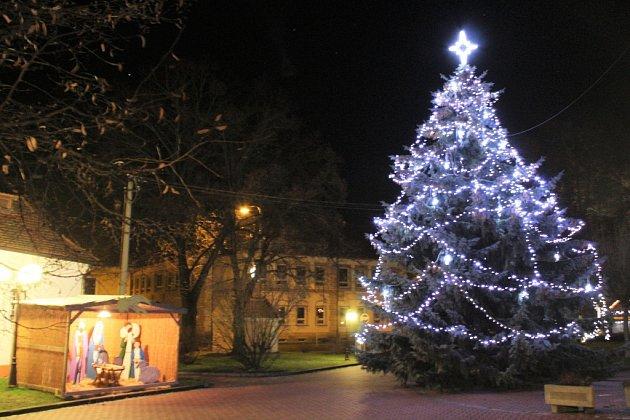 Vánoční strom Tlumačov