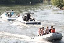 Tradiční akt odemykání řeky Moravy pro plavební sezonu