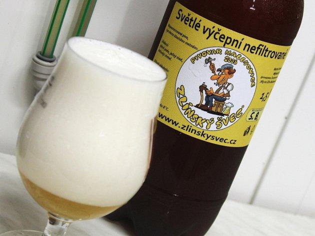 Ve zlínské části Malenovice je v provozu od ledna letošního roku pivovar. Vyrábějí tam a prodávají pivo Zlínský švec.
