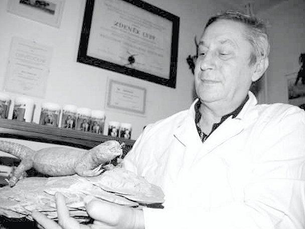 Veterinář Zdeněk Lysý