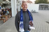 Bývalý obránce Synotu a Uherského Hradiště Libor Bužek s kamarády a bývalými spoluhráči zavzpomínal na slavné časy na Slovácku.
