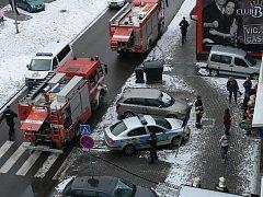 Požár v restauraci Dragon ve Zlíně
