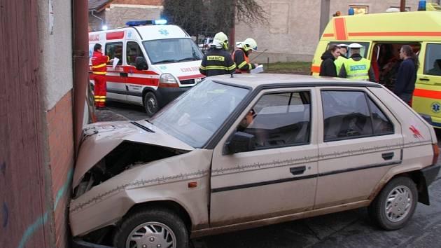 Nehoda ve Zlíně - Loukách.