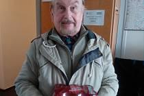 Jaromír Adler ze Zlína, výherce 2. kola Tip ligy
