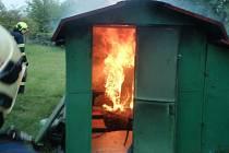 Požár zachvátil domek v Brumově-Bylnici