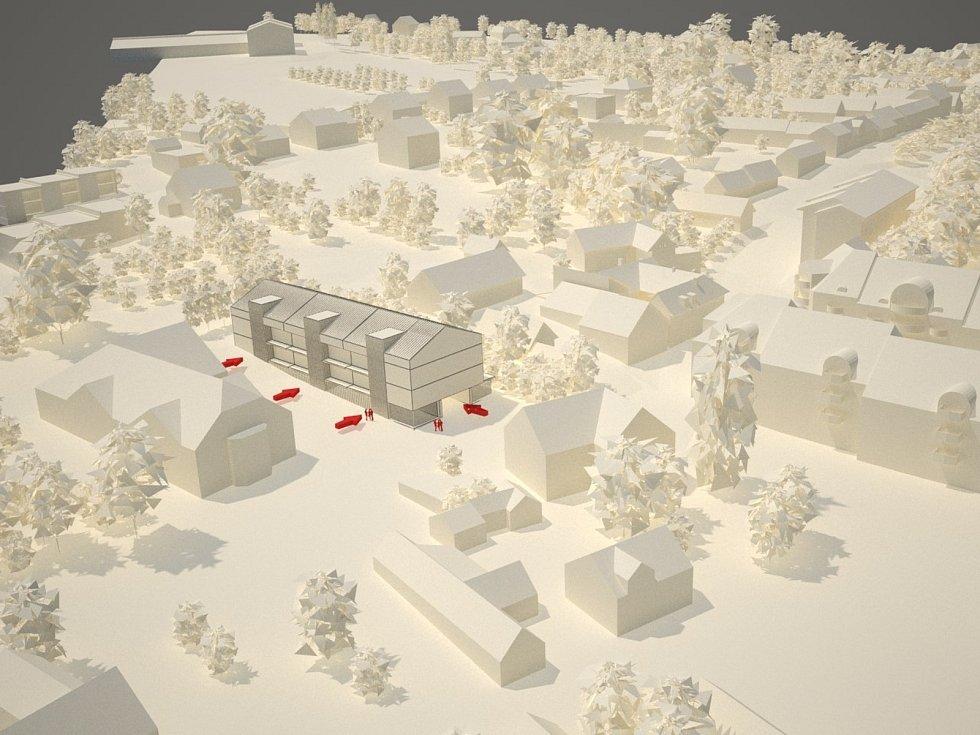 Město nabízí k prodeji parcelu vhodnou pro výstavbu bytového domu na ulici L. Výducha.