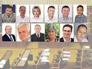 Noví poslanci Zlínského kraje vzešlí z voleb do PS PČR v říjnu 2017