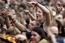 Ve vizovickém areálu Rudolf Jelínek začal ve čtvrtek 14. června devátý ročník hudebního festilau Masters of Rock.