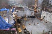 Stavba nové budovy centrální zlínské hasičské stanice je plném proudu. Má zvýšit komfort pro hasiče a přinést zkvalitnění zásahů.