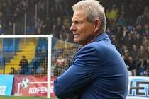 Trenér Zlína Vlastimil Petržela
