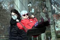 Ve Zlíně zavládlo i v únoru jarní počasí.