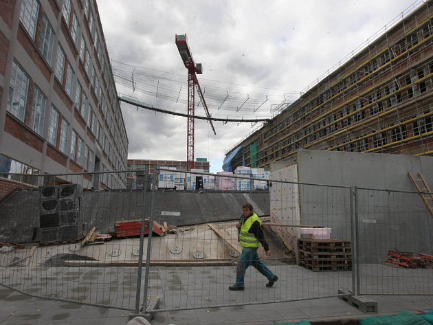 Stavba krajského vzdělávacího centra ve Zlíně