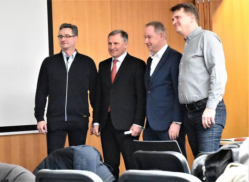 Stanislav Polčák. Konference s názvem Zlínsko 2020+ Kraj, kde se dobře žije.