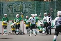 Národní liga v hokejbalu. Ilustrační foto