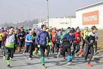 Ilustrační foto ze Zlínského půlmaratonu v Přílukách.