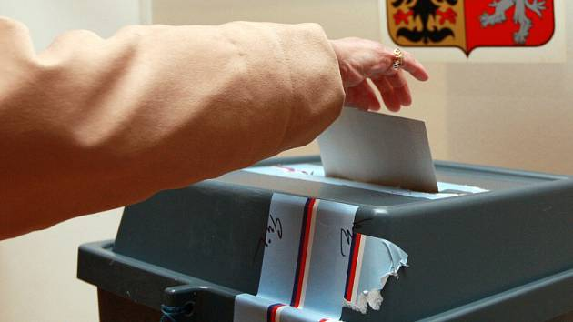 Druhé kolo senátních voleb ve Zlíně.