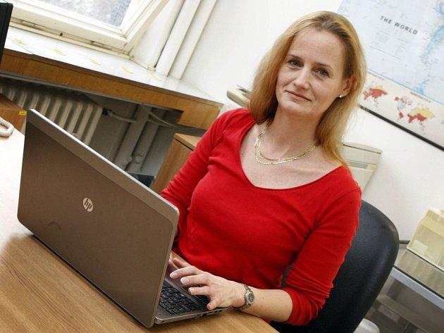 Hana Tkadlecová -  vedoucí protiepidemického odboru Krajské hygienické stanice Zlínského kraje.