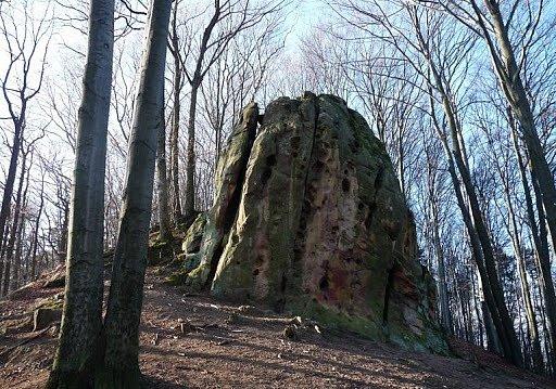 Čertův kámen.