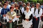 Svěcení léčivých pramenů v Luhačovicích