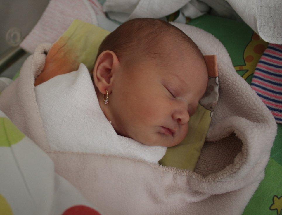 Mia Fusková, 7. září 2020, 2630 g, 49 cm, Zlámanec