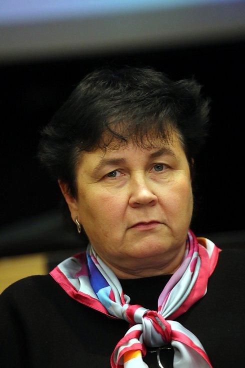 Ustavující Zastupitelstvo města Otrokovice. Marta Zakopalová