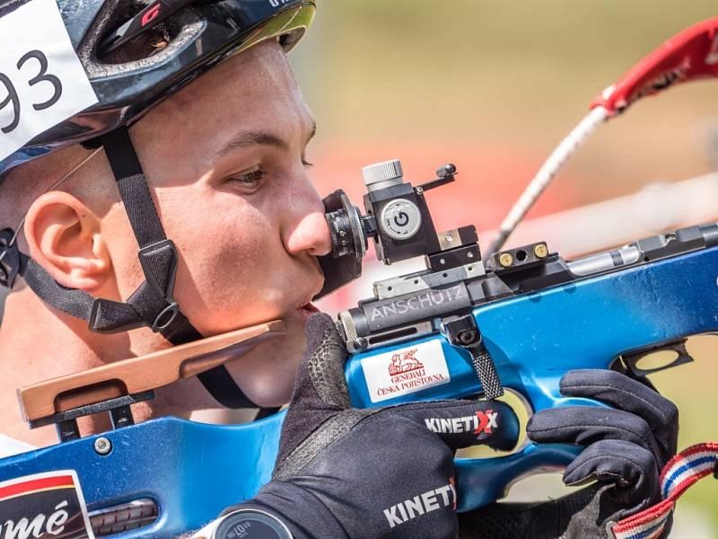 Mistrovství republiky v biatlonu na kolečkových lyžích 2021